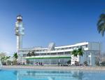 17米高半弧形海濱酒店设计施工图