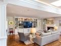 时尚家居客厅装修,简约大气客厅电视背景墙效果
