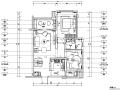 北欧风格二居室住宅设计施工图(附效果图+模型)