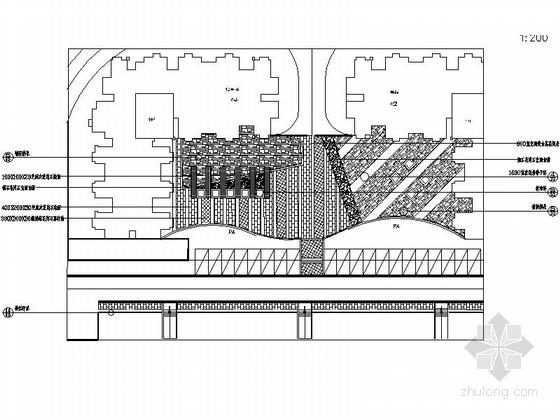 [四川]保障性住房景观设计施工图-分区详图