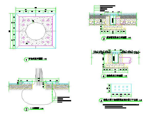 2015年重庆一纵线北碚道路改造工程图纸123张(含排水照明交通)