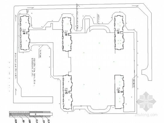 [河北]深基坑钢管桩加锚索支护施工方案(含计算书 CAD图)