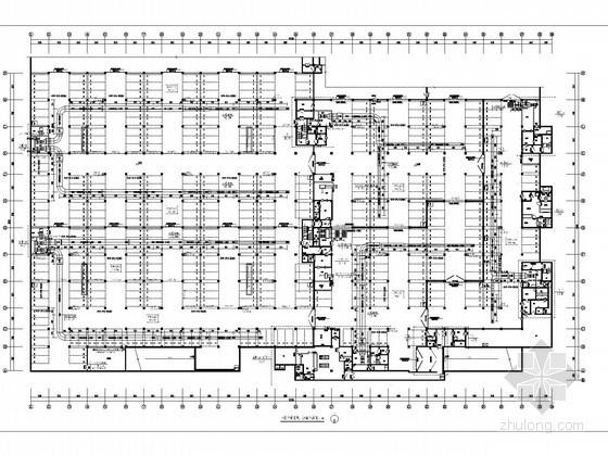 大型人防工程空调通风及防排烟系统设计施工图(节能设计)