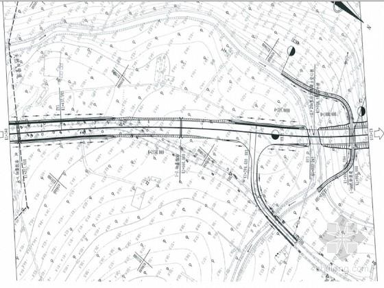 双向四车道一级公路工程施工图全套1039页(路桥涵 安全设施)