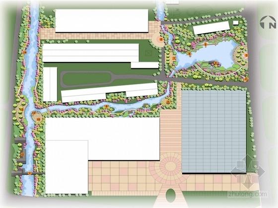 """[宁波]""""烟雨荡舟""""湿地步道景观规划方案"""