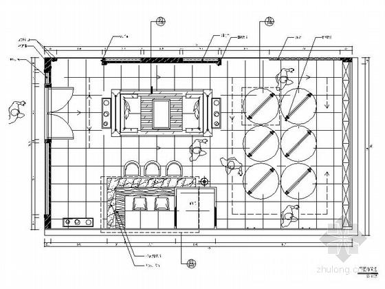 [北京]全国连锁玻璃混搭风格展厅设计施工图(含效果)