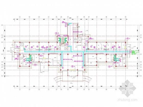 采暖管网施工图资料下载-[上海]多层医疗建筑采暖通风系统设计施工图