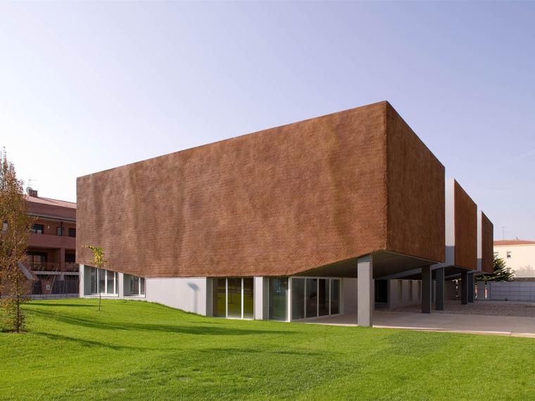 西班牙ArxiuPlaUrgell公共档案办公楼_1