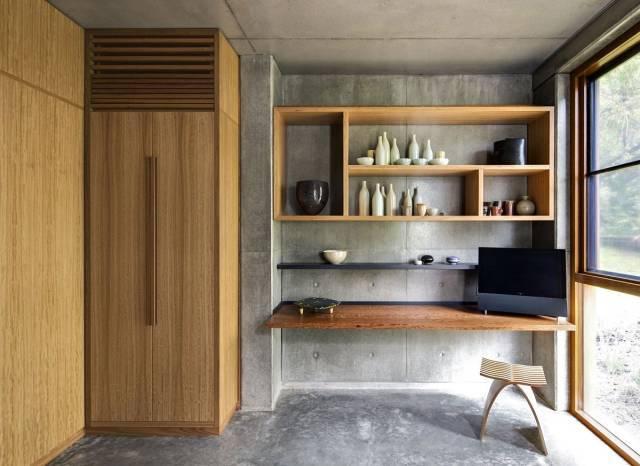 美式室内设计效果图-做旧的装潢装修