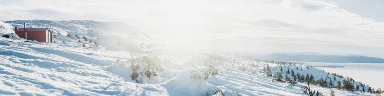 俄罗斯雪地上的DublDom预制观景屋-3