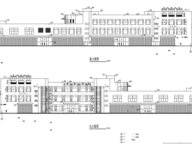 龙归商贸城建筑设计初设图CAD