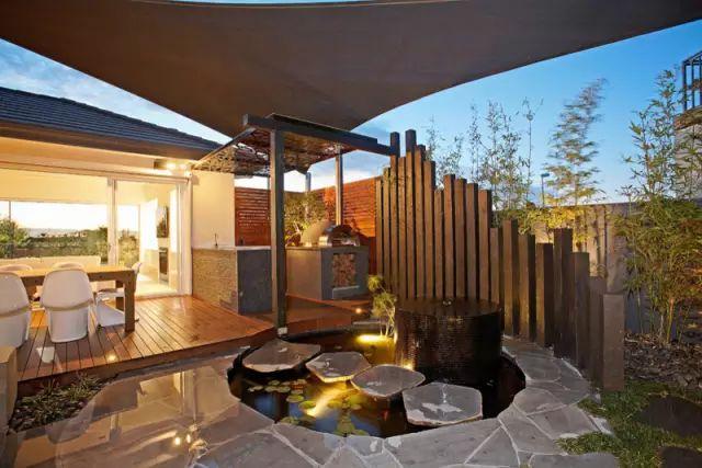 赶紧收藏!21个最美现代风格庭院设计案例_165