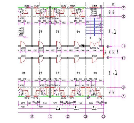 砌体结构设计范例-学校宿舍楼设计