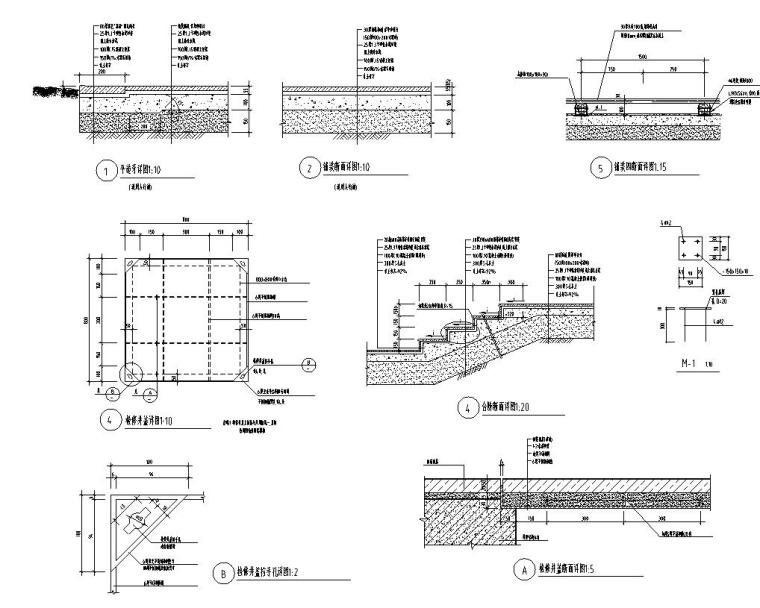 中山市朗晴轩启动区景观设计施工图一套——奥雅_9