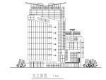 云南风云大酒店高层宾馆酒店设计方案(完整方案CAD)
