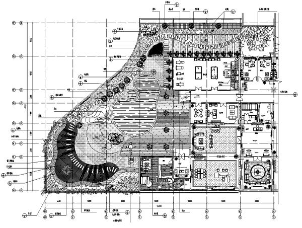 最全屋顶花园景观设计CAD平面图95套