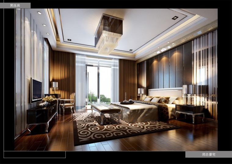 室内设计家装工装施工图及设计方案精品汇总_8
