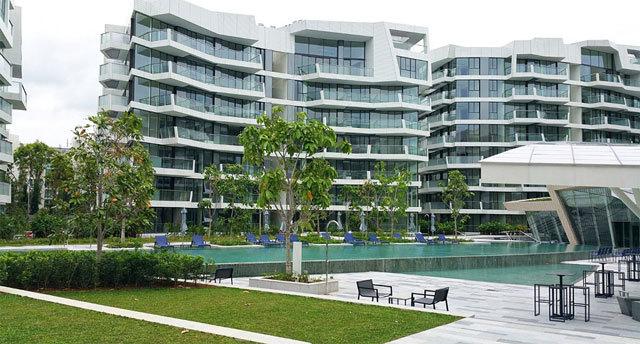 新加坡吉宝湾丽珊景住宅景观设计_13