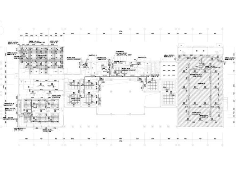 [浙江]高层档案馆建筑空调通风消防排烟系统设计施工图(节能建筑)