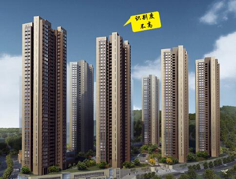 [广东]知名方案地产住宅楼v方案模型模板(带cad图纸及高层)平面设计色彩感图片