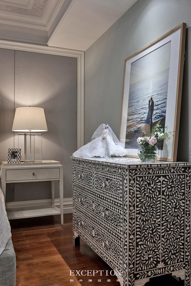 燕尔臻邸--深圳鲸山觐海复式软装设计-  「设计解读.女儿房细节」第15张图片