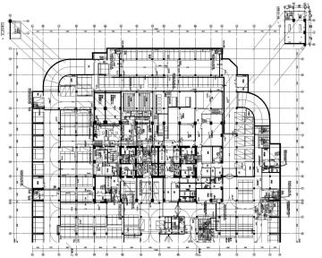[海南]25万平超高层商务大厦给水中水湿式灭火系统施工图(顶设)