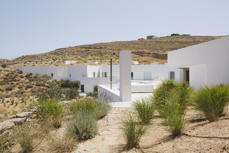 纯粹的海边小屋案例(希腊)