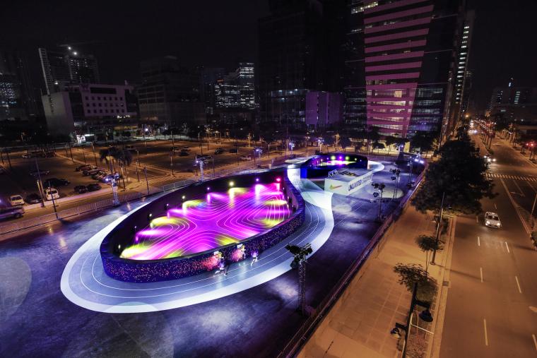 菲律宾LED鞋型跑道
