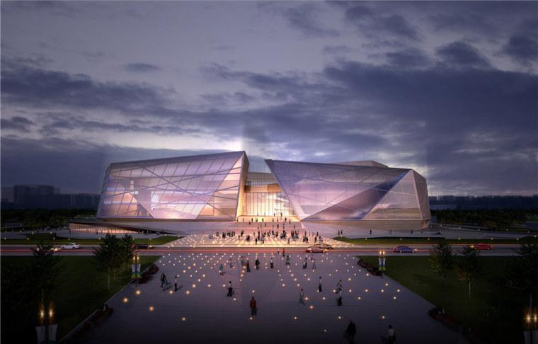 郑州大剧院-文化建筑案例-筑龙建筑设计论坛图片