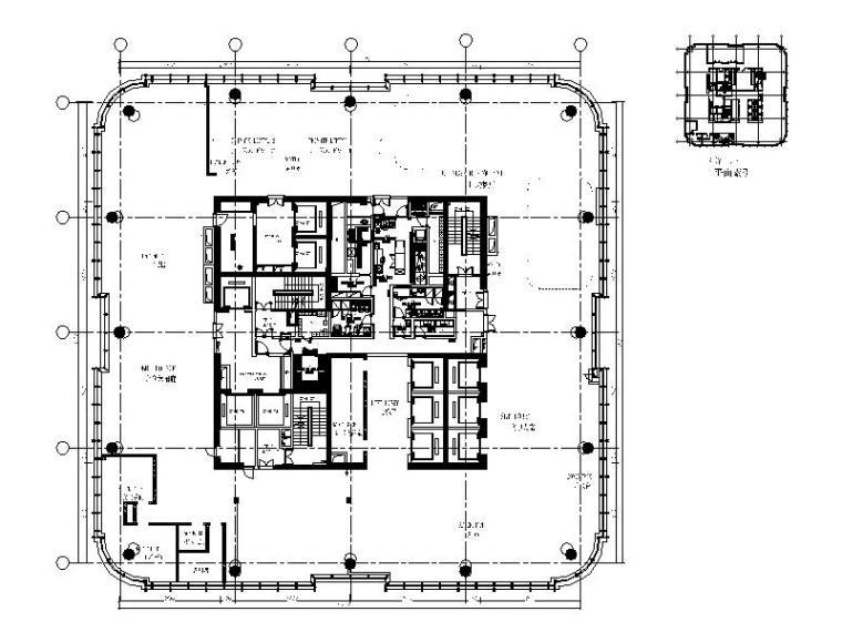 [南宁]豪华精选酒店设计施工图