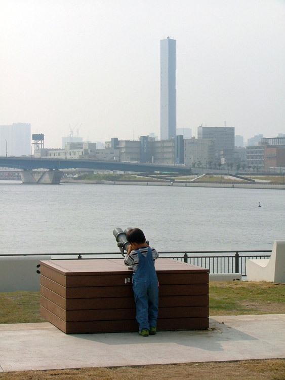 东京丰州LaLaport码头休闲区景观设计_14