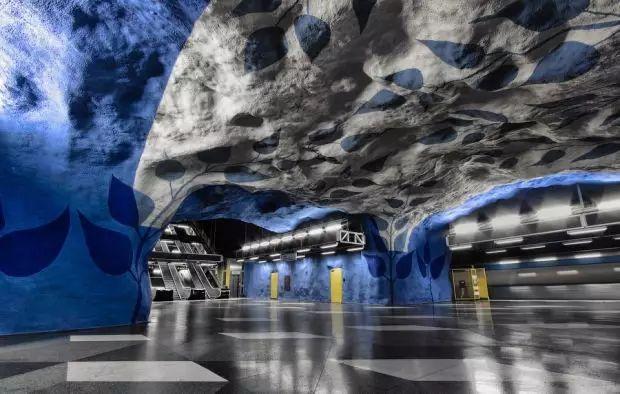 世界最美地铁景观,美到让你不想回家_4