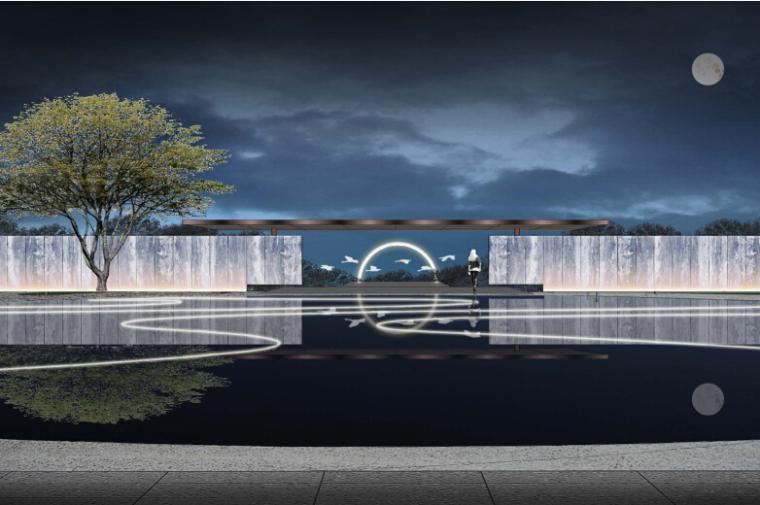 [浙江]杭州未来城居住示范区景观设计方案(新中式)