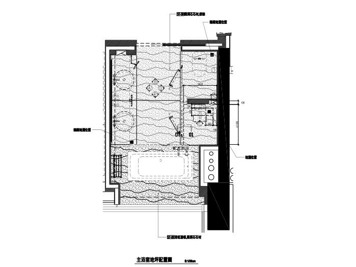 [深圳]邱德光|前海壹方中心现代中式风格住宅设计施工图+物料书+效果图_12