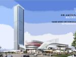 [东莞]高层现代风格多功能万科中心建筑设计方案文本