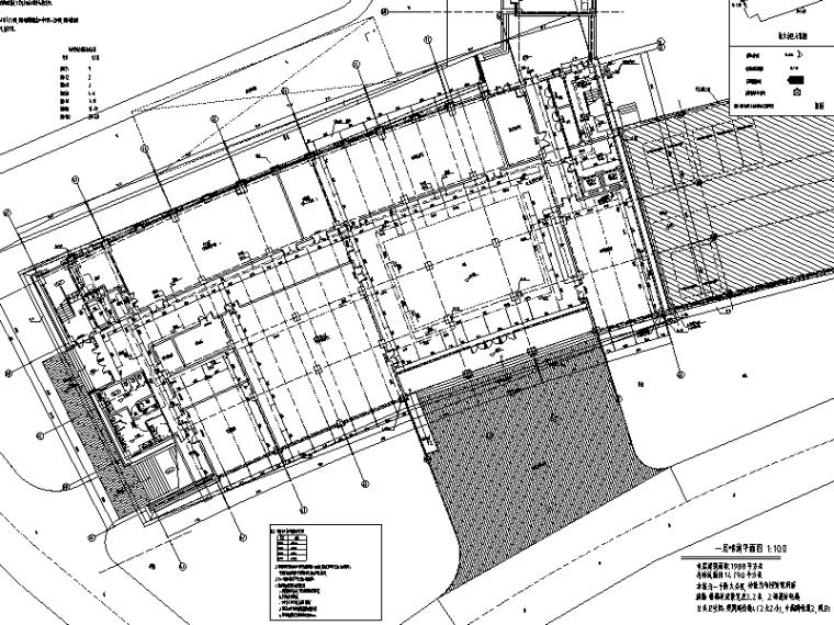 某市档案馆给排水工程施工图(CAD)