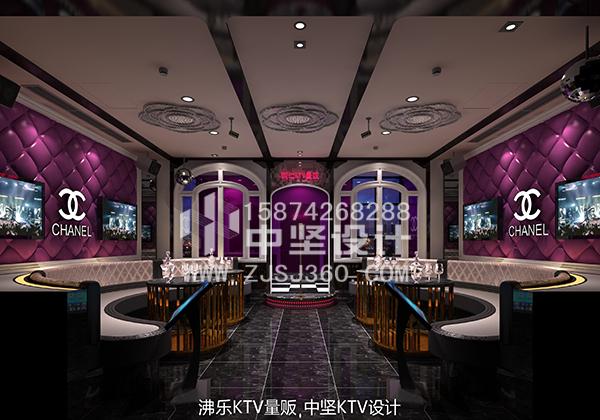 贵州大型KTV设计项目案例中坚KTV设计公司打造_2