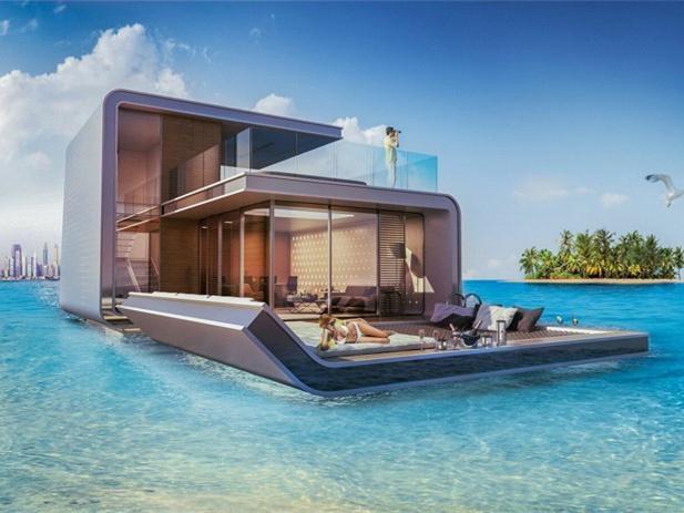 迪拜漂浮海马当代游艇-迪拜漂浮海马当代游艇第1张图片