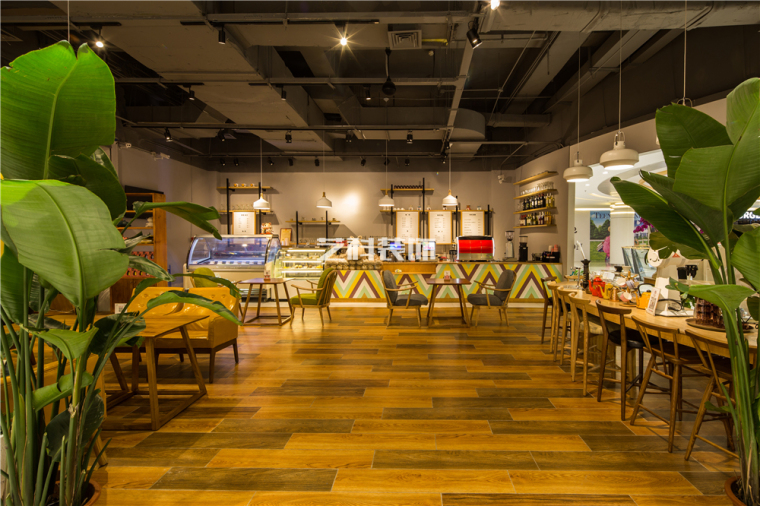 青岛咖啡店设计装修案例——河马的幸福生活主题咖啡馆-_MG_4985.jpg