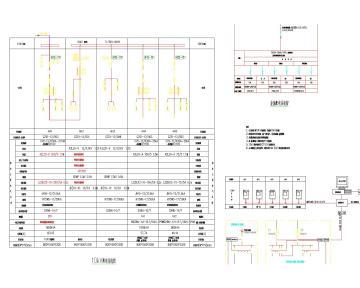 某图书馆电气施工图全套(含电气、照明、配电、消防联动)