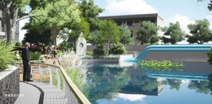 [上海]海绵城市生态休闲街道景观改造设计方案