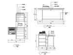 17套超市货架CAD图块