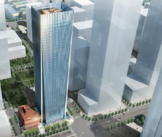 某大院超高层办公建筑方案设计投标文件