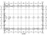 单层两跨带吊车钢结构厂房结构施工图(PDF、12张)