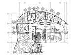 [北京]五星酒店中餐厅室内装修施工图