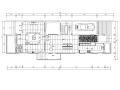 [浙江]某现代简约风格三层别墅装修施工图及效果图