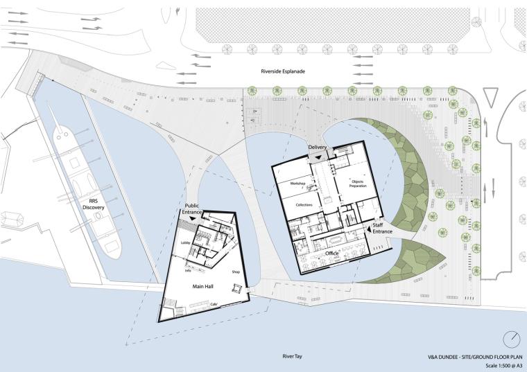 V_A_Dundee_-_Drawing_01_-_Site-Ground_Floor_Plan_©KKAA