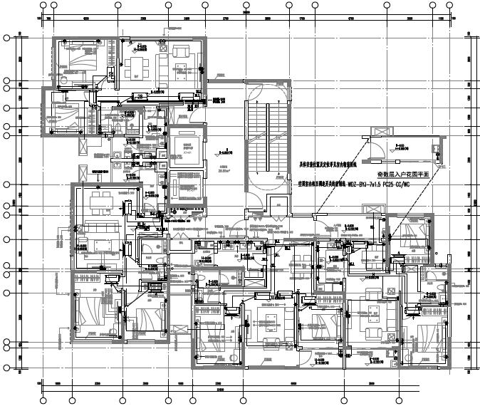 广东省东莞特大型住宅及配套公建电气施工图