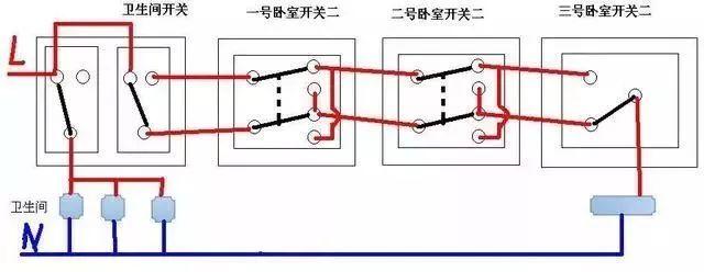 电气造价电线根数不会判断?