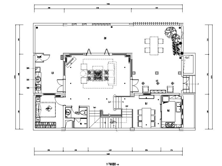[四川]东南亚450平米联排别墅设计施工图(附效果图)